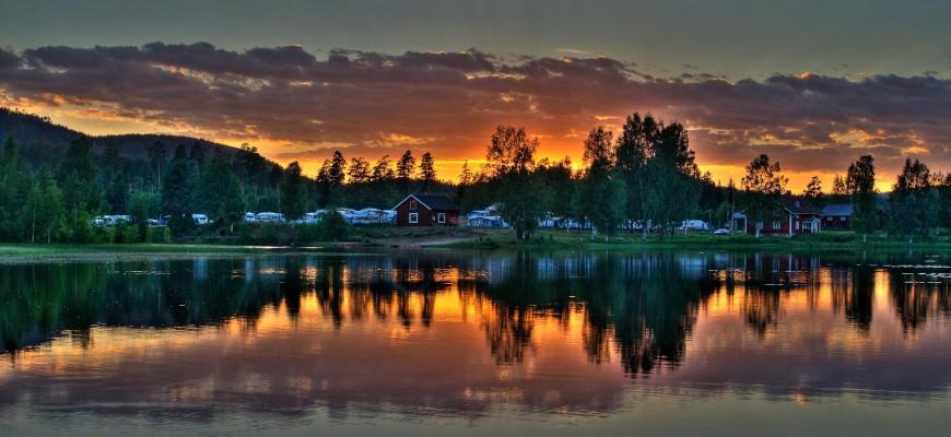 Camping i Sverige