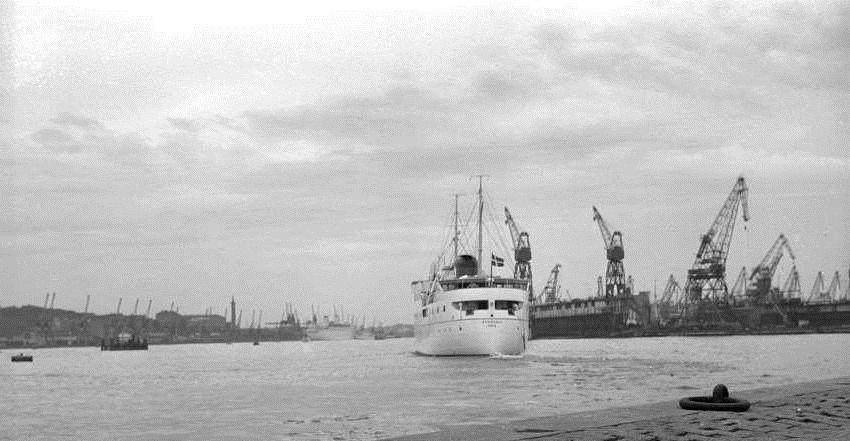 Østersøen i Göteborg havn