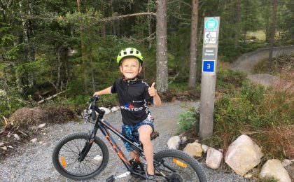 MTB-cykling og kanosejlads i smukke Trysil