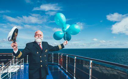 Kaptajnen om bord på Stena Line
