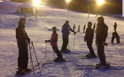 Familietur på ski til Branäs