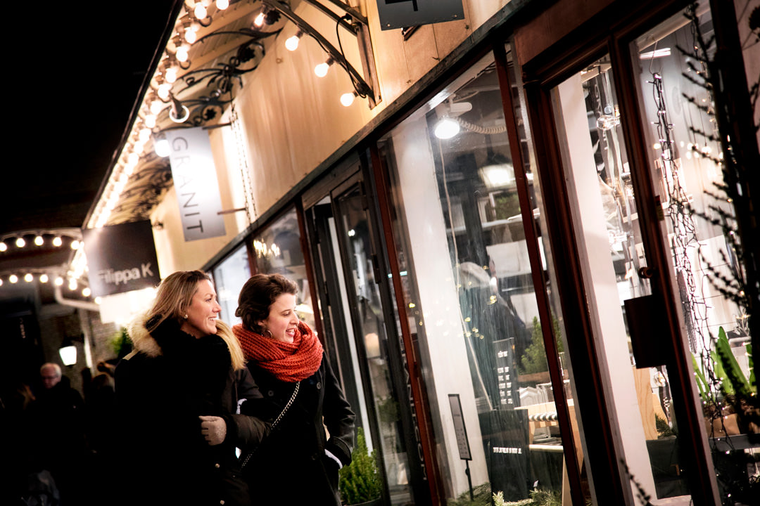 Jul i Victoriapassagen, Göteborg